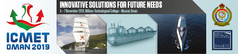 International Conference on Marine Engineering and Technology, Oman 2019